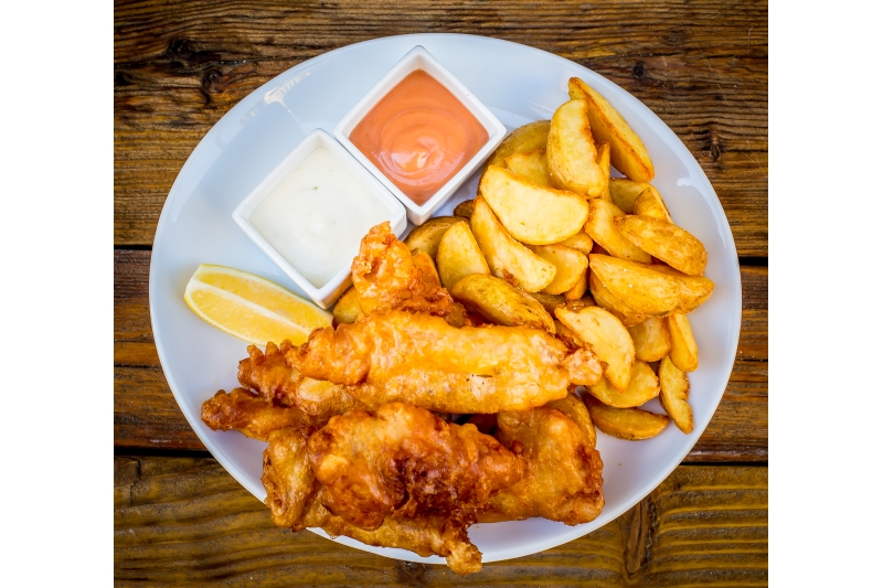 Fish and Chips (kis adag)