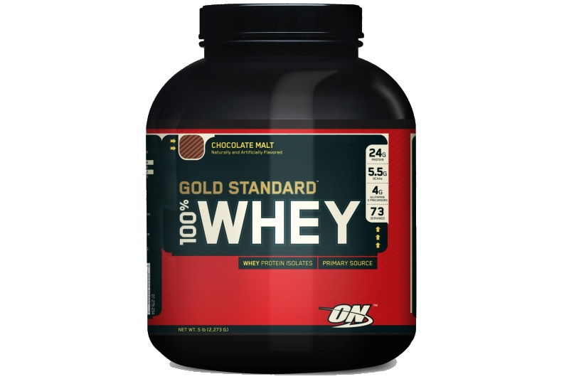 Optimum Nutrition Gold Standard 100% Whey (2273g) banán