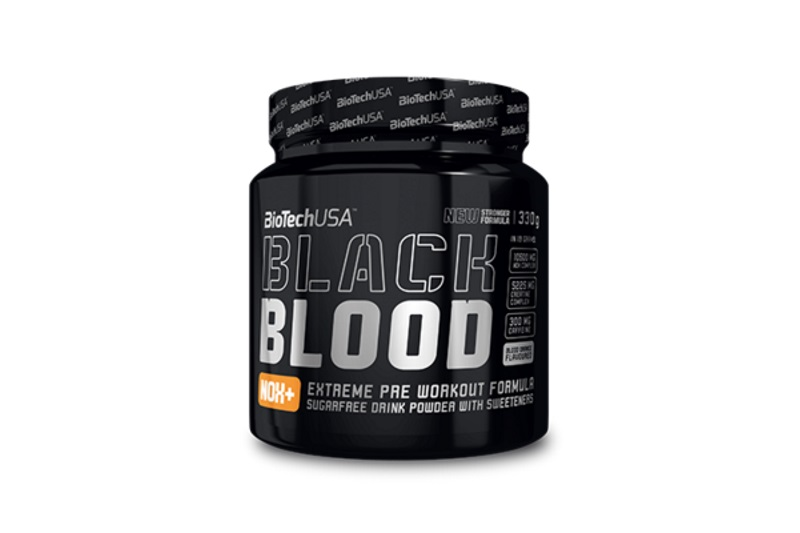 Black Blood NOX+ (330g) vérnarancs