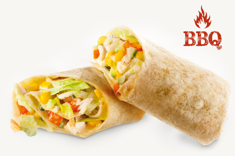 Barbecue-s wrap