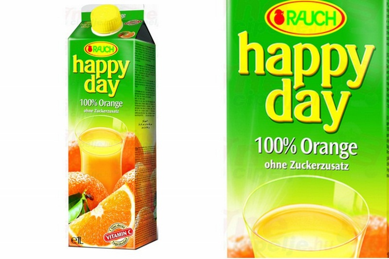 Happy Day 100% narancs (1l)
