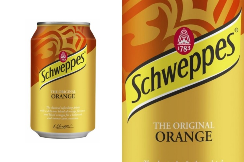 Schweppes Orange (0,33l)