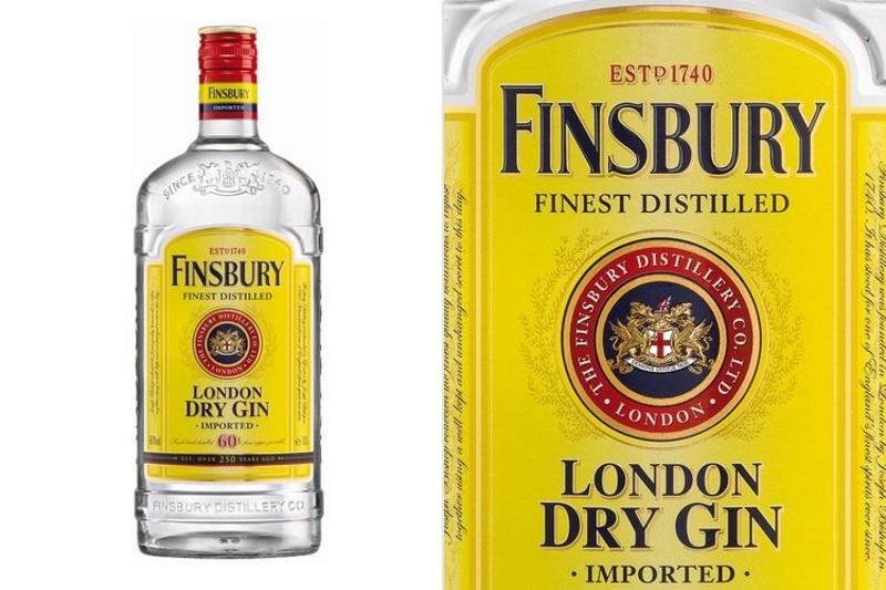 Finsbury London Dry Gin (0,7l)