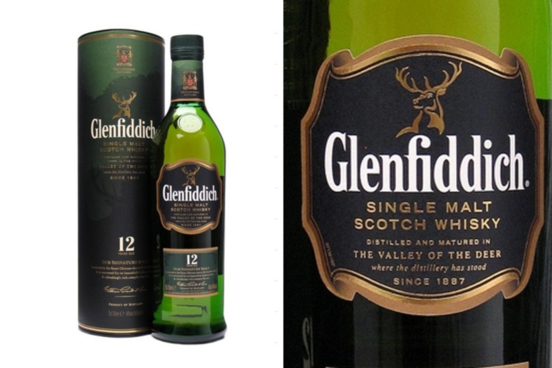 Glenfiddich 12 years DD. (0,7l)