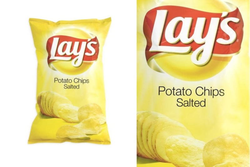 Lays Chips sós (77g)