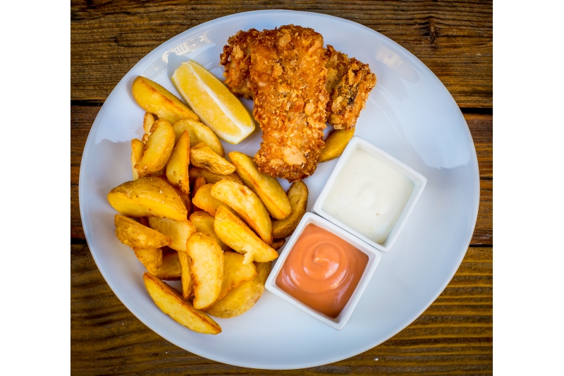 Prémium Fish and Chips