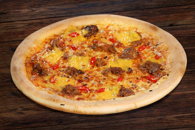 Spicy beef pizza (45cm)