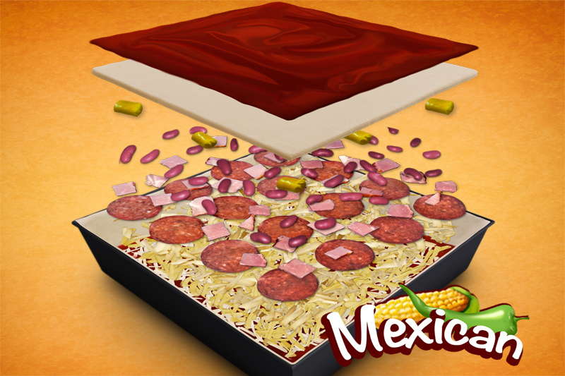 PizzaMAX Mexican (45cm)