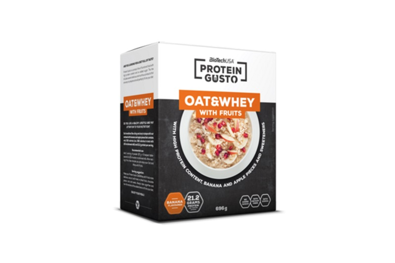 OAT AND WHEY WITH FRUITS (696g) banán-alma