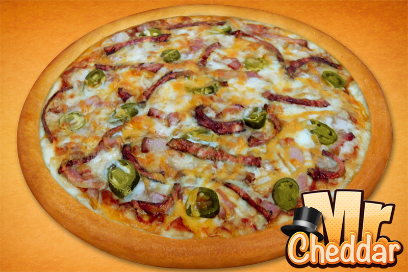 Mr Cheddar fit and slim pizza (26cm)