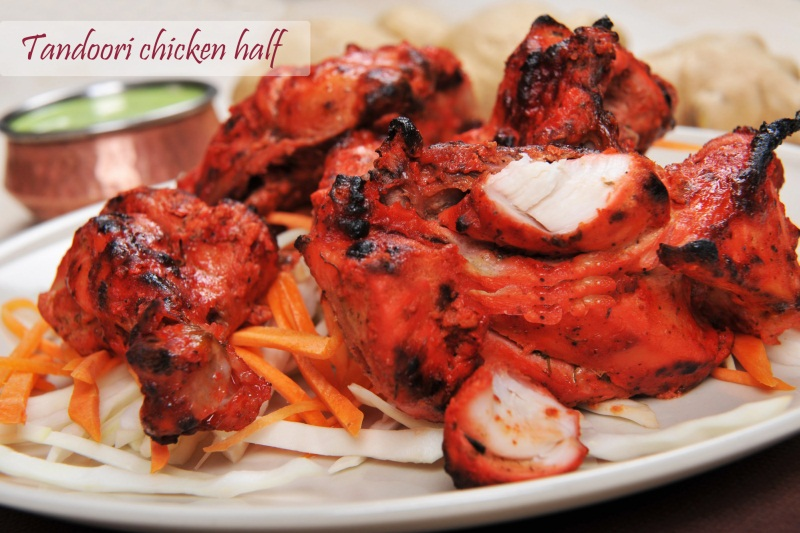 Tandoori Chicken Half