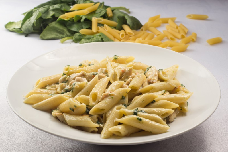 Spinaci penne