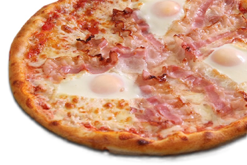 Bacon and Eggs pizza (32cm)