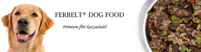 Ferbelt Dog Food - kutyaétel