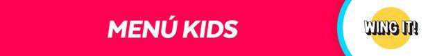 Menú Kids