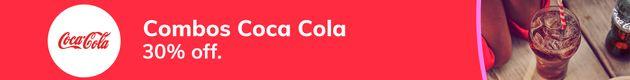 30% off Combos Coca-Cola