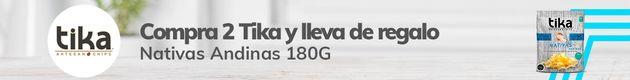 Especial Tika: Lleva 2 y te regalamos 1 Nativas Andinas 180G