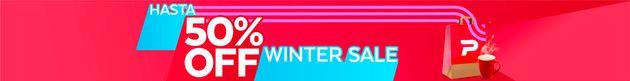 Winter Sale hasta 50% Off