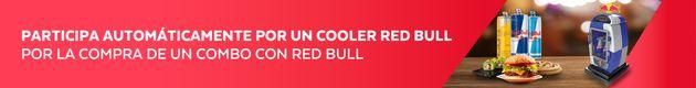 Sorteo Cooler Red Bull