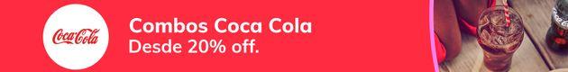 Burgers en Combos Coca-Cola