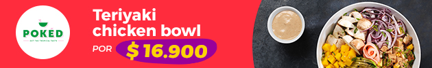 A tu Medida, Teriyaki Chiken Bowl por $16.900