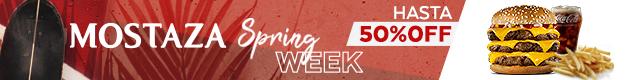 Descuentos hasta el 50% - Mostaza Spring Week