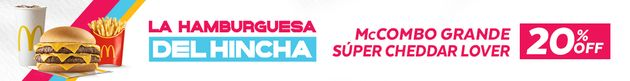 Promo La Hamburguesa del Hincha