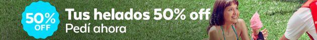 Helados 50% OFF