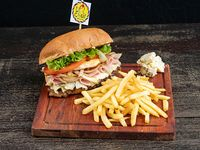 Sándwich roquefeller