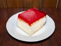 Torta Cheesecake de frutillas  (cuadrado de torta)
