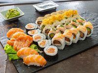 Combinado Emiru de salmón - 40 piezas