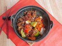 88 - Carne con salsa de ostra