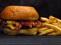 Hamburguesa cheese bacon