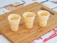 Vasos de pasta chicos (3 unidades)