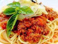 Pasta Tipo Bolognesa + Parmesano Italiano