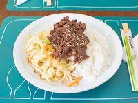 Teriyaki con carne