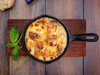 Champignones Parmesanos