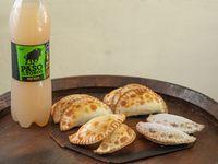 Promo 6 - 12 empanadas + 2 dulces + bebida 1.5 L