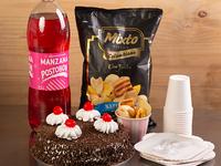 Combo Celebración Genovesa Mediana + Mixto Típico Colombiano + Vela