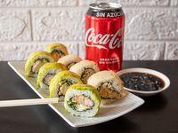 Combo Los Apañadores 1 - 15 piezas sushi + bebida 330 ml