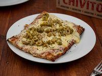 Pizza con muzzarella + gusto