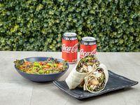 Combo 1 - Bowl Veggie + Wrap Caesar + 2 bebidas