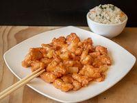 Colación - Pollo piña con arroz chaufan