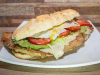Sándwich de milanesa al horno #3