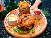Combo - Hamburguesa Buddha de carne