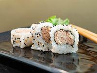 Salmón cook roll (10 unidades)