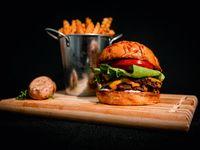 Combo 3 - 3 hamburguesas Smize dobles a elección + papas fritas