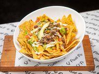 Porción nachos carne