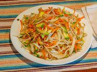 Chop suey con verdura