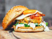 Eggsorcist burger